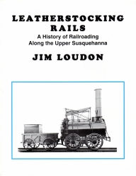 Leatherstocking Rails - book cover